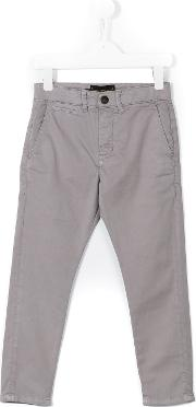 Finger In The Nose , Smart Trousers Kids Cottonspandexelastane 8 Yrs, Boy's, Grey