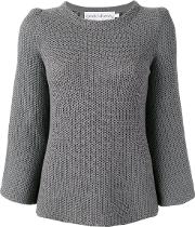 Goat , Dot Jumper Women Cotton 14, Women's, Grey