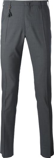 Incotex , Classic Chinos Men Wool 52, Grey