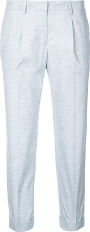 Incotex , Cropped Trousers Women Cottonpolyurethane 38