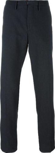 Incotex , Slim Fit Tailored Trousers Men Cottonwool 54