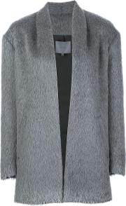 Maiyet , Open Front Coat Women Alpacavirgin Wool 2, Women's, Grey