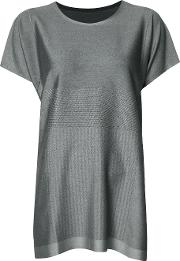 Pleats Please By Issey Miyake , T Shirt Dress Women Nylonpolyesterpolyurethane 3, Women's, Grey
