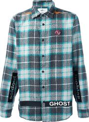 Sold Out Frvr , Checked Shirt Men Cottonpolyesterother Fibers S, Grey