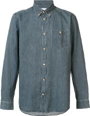 Wesc , 'oke' Shirt Men Cotton S, Grey