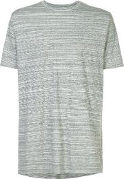 Zanerobe , Striped T Shirt Men Cotton L, Grey