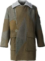 Christopher Raeburn , 'motorcycle' Coat Men Cottonwool L, Green