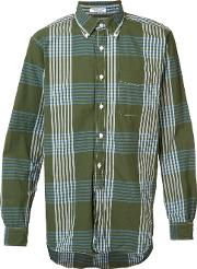 Engineered Garments , Checked Shirt Men Cotton M, Green