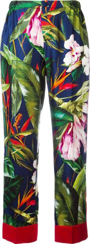 Frs For Restless Sleepers , F.r.s For Restless Sleepers Zeus Trousers Women Silk Xs, Women's, Green