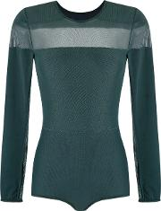 Giuliana Romanno , Panelled Body Women Polyamidespandexelastane M, Women's, Green