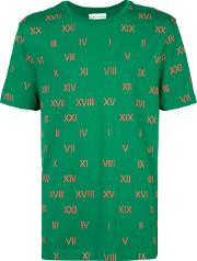 Gosha Rubchinskiy , Centuries Print T Shirt Men Cotton L, Green