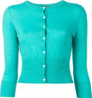 Npeal , N.peal Button Up Cardigan Women Cashmere S, Women's, Green