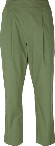 Semicouture , Cropped Trousers Women Cotton 44