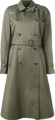 Vanessa Seward , Trench Coat Women Cottonviscose 38, Women's, Green