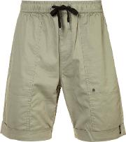Zanerobe , Blockshot Shorts Men Cottonspandexelastane 30, Green