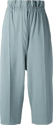 Boboutic , Cropped Trousers Women Viscosepolyester M, Green