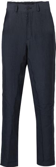 Damir Doma , Cropped Trousers Men Linenflax S, Blue