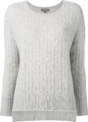 Npeal , N.peal Cashmere Oversize Box Cable Jumper Women Cashmere M, Grey