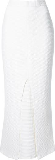 Strateas Carlucci , Gusset Skirt Women Polyester S, White