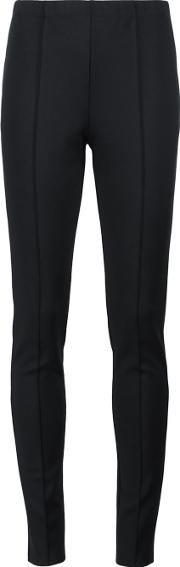 Yigal Azrouel , 'scuba' Slim Fit Trousers Women Spandexelastane 8, Black