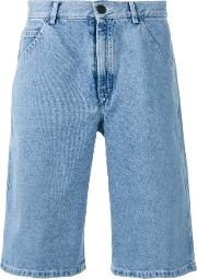 Gosha Rubchinskiy , Denim Shorts Men Cottonpolyester M, Blue