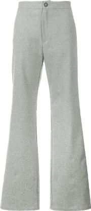 Lot78 , Flared Trousers Women Viscosewoolpolyester 26, Grey