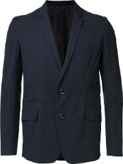 Attachment , Classic Blazer Men Cottonnylonpolyurethane 1, Black
