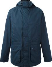 Barbour , Downpour Raincoat Men Cottonpolyamidepolyester L, Blue