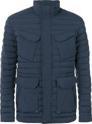 Colmar , 'hip Hop' Padded Jacket Men Feather Downpolyamidespandexelastane 48, Blue