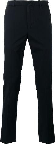 Corneliani , Mid Rise Chinos Men Cottonspandexelastanepolyester 48, Blue