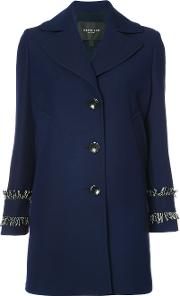 Derek Lam , Single Breasted Coat Women Viscosecottonsilkwool 44, Blue