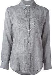 Masscob , Classic Shirt Women Cotton M, Grey