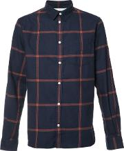 Norse Projects , Checked Shirt Men Cotton S, Blue