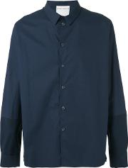 Stephan Schneider , Classic Shirt Men Cotton M, Blue