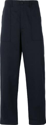 Universal Works , Tailored Trousers Men Cotton 30, Blue