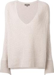 Npeal , N.peal Oversize Box Cable Jumper Women Cottoncashmere S, Women's, Nudeneutrals