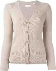 Chinti And Parker , V Neck Cardigan Women Cashmere L, Women's, Nudeneutrals