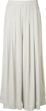 Just Female , Draped Palazzo Pants Women Polyester M, Women's, Nudeneutrals