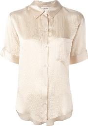 Masscob , Shortsleeved Shirt Women Silk L, Women's, Nudeneutrals