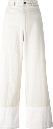 Sea , Flared Trousers Women Linenflax 6