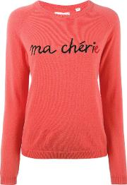Chinti And Parker , Cashmere Ma Cherie Sweater Women Cashmere M, Red