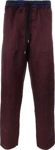 Andrea Pompilio , Drawstring Trousers Men Linenflaxviscose 50
