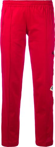 History Repeats , Side Patch Track Pants Women Cotton 44, Women's, Red