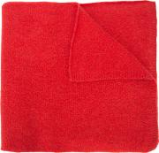 The Elder Statesman , Classic Scarf Women Wool One Size, Women's, Red