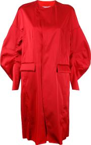 Toga Pulla , Oversized Coat Women Polyester 38, Women's, Red