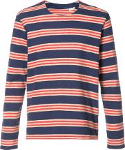 Levis Made & Crafted , Levi's Made & Crafted Striped T Shirt Men Cotton 1, Blue