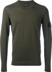 Stone Island Shadow Project , Button Detail Jumper Men Cotton S, Green