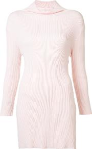 Baja East , Long Turtleneck Jumper Women Cotton 1, Women's, Pinkpurple