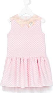 I Pinco Pallino , Checked Dress Kids Cottonpolyamidepolyester 2 Yrs