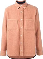 Tim Coppens , Worker Shirt Men Cottonpolyamideangoravirgin Wool S, Pinkpurple